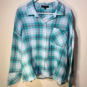 Sanctuary Plaid Top